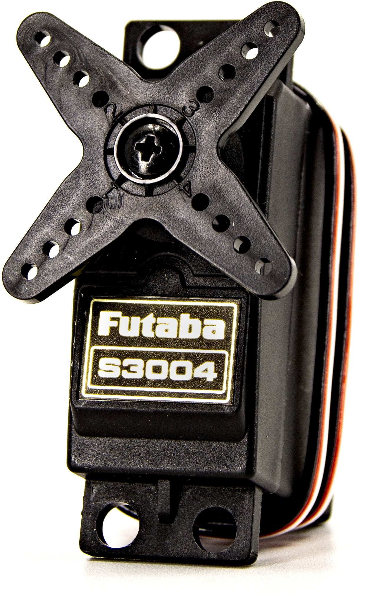 Futaba S3004 Standard Ball Bearing Servo .19Sec/56.9Oz @ 6V