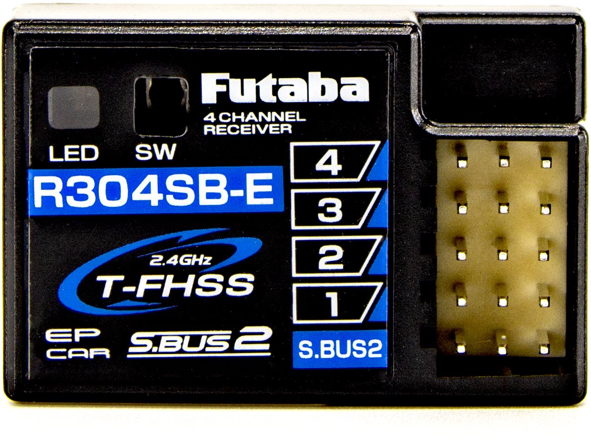 Futaba R304sb-E T-Fhss Telemetry System 4-Channel 2.4Ghz Micro Receiver