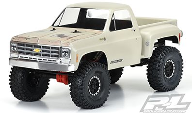 """Proline 1978 Chevy K-10 Clear Body (Cab & Bed) For 12.3\"""" (313Mm) Wheelba"""