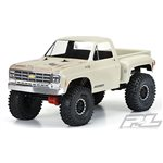 """1978 Chevy K-10 Clear Body (Cab & Bed) For 12.3"""" (313Mm) Wheelba"""