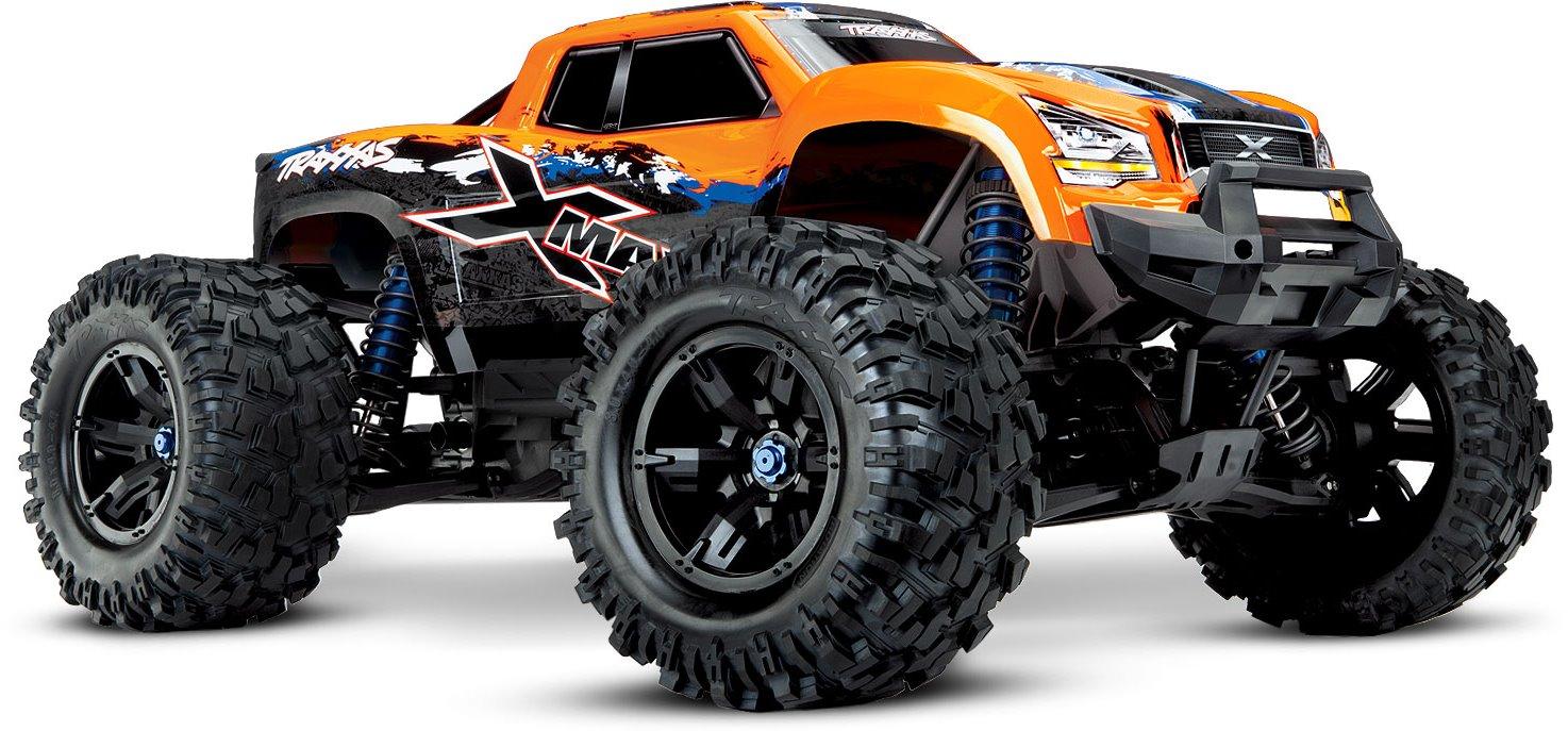 Traxxas X-Maxx 4X4, 8S Brushless Powered Monster Truck (OrangeX)