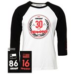 Traxxas 30 YEARS RAGLAN WHITE/BLA