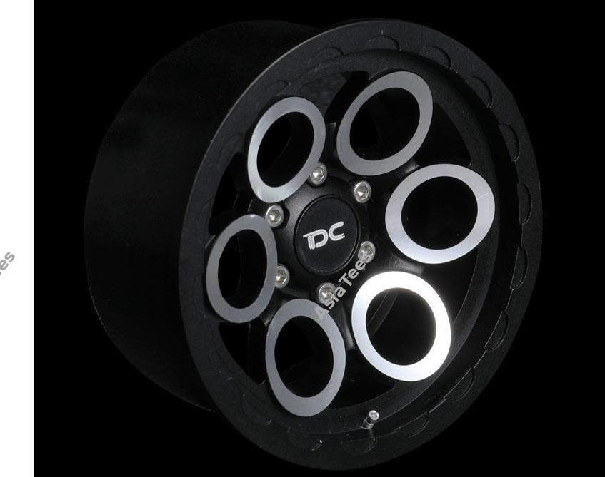 Team DC 2.2 Aluminum Beadlock Wheel Magnus Style for RC Crawler (2)