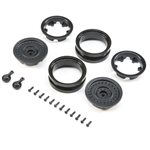 1.9 MW19 Beadlock Wheels - Black (2pcs)