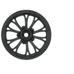 "Proline Pomona Drag Spec 2.2"" Black Front Wheels (2) For Slash 2Wd (Usin"