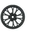 """Pomona Drag Spec 2.2"""" Black Front Wheels (2) For Slash 2Wd (Usin"""