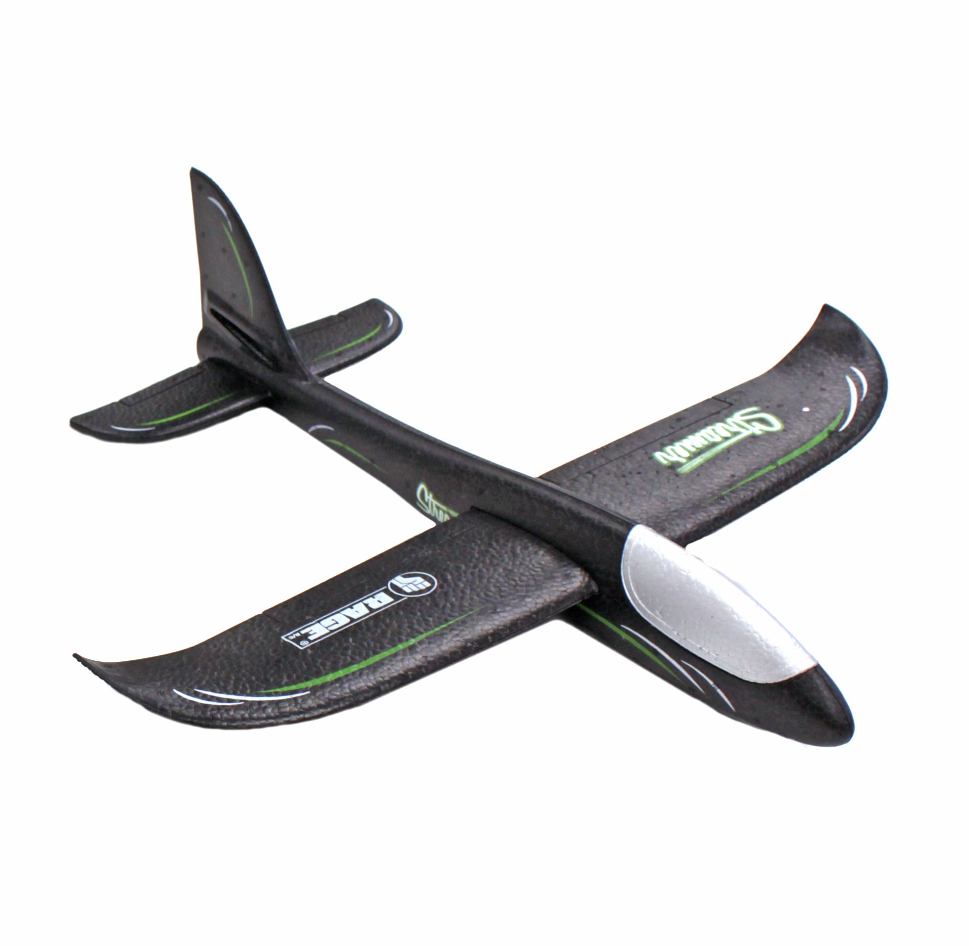 Rage RC Streamer Hand Launch Glider, Black