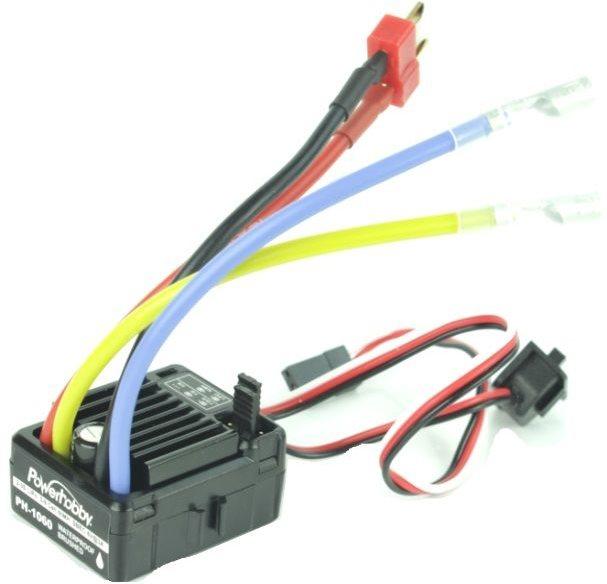 Power Hobby Ph-1060 Waterproof Brushed Crawler Esc (2-3S)