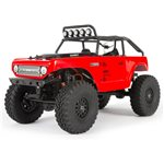 Axial SCX24 Deadbolt 1/24th Scale Elec 4WD - RTR, Red