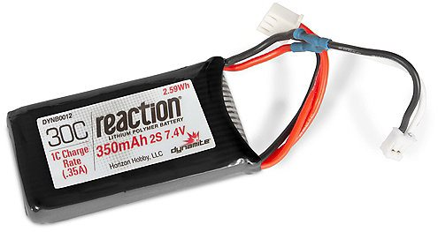 Dynamite Battery 7.4v 350mAh 2s LiPo