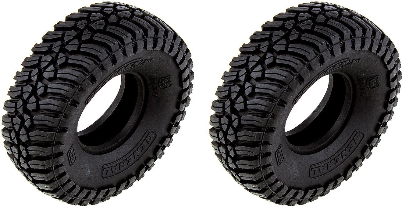 Associated General Grabber X3 Tires, 1.9In, 4.65In Dia