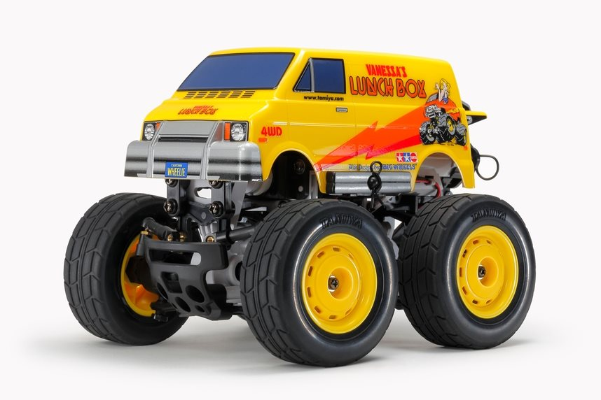 Tamiya Rc Lunch Box Mini Kit 1/24 Scale Sw-01Chassis