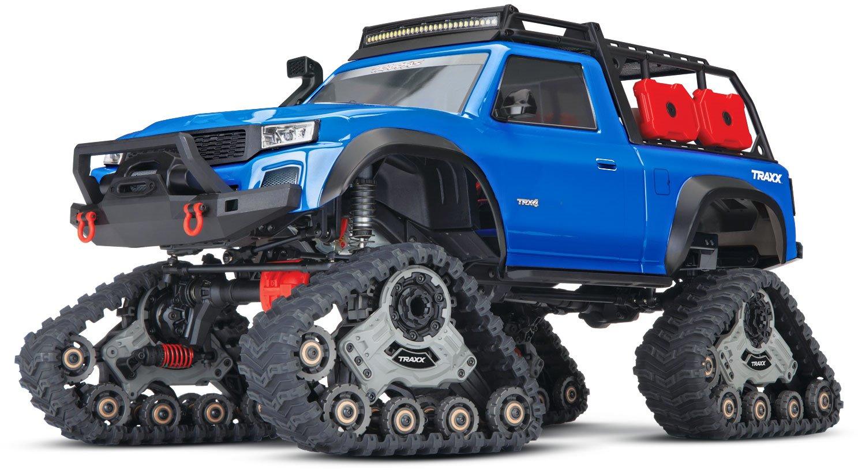 Traxxas Trx-4 With All-Terrain T - Blue