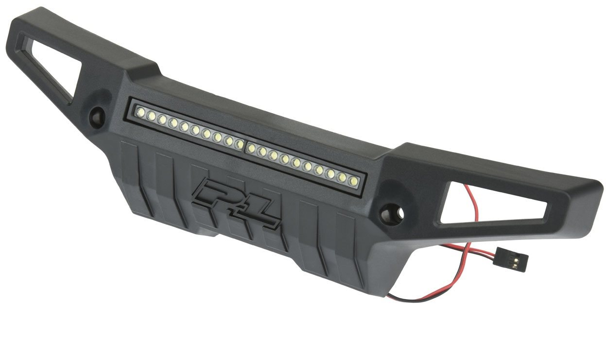 """Proline Pro-Armor Front Bumper With 4\"""" Led Light Bar Mount For X-Maxx"""