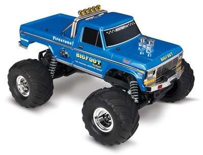 Traxxas Bigfoot No. 1, 1/10 Scale 2Wd Monster Truck, Waterproof, Rtr