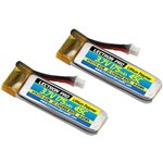 Lectron Pro™ 3.7V 175mAh 45C Lipo Battery 2-Pack for Blade 70S