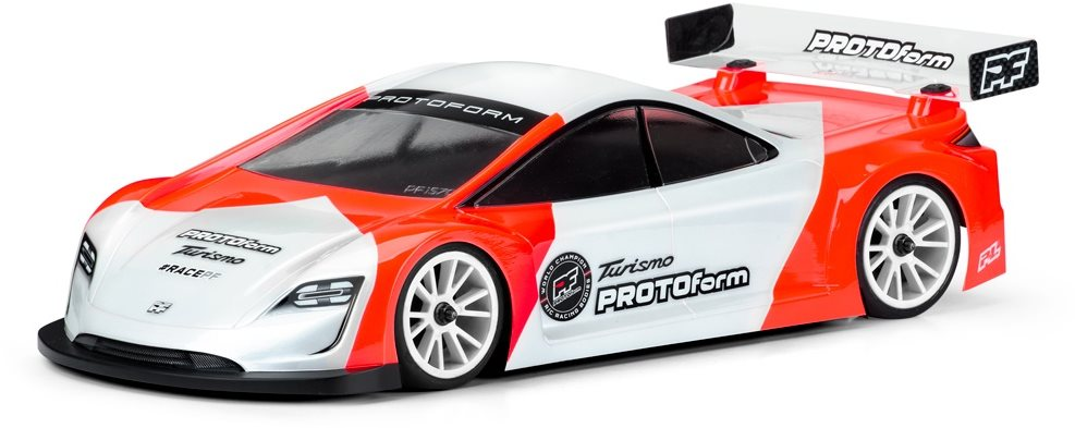 Proline Turismo Light Weight Clear Body For 190Mm Tc