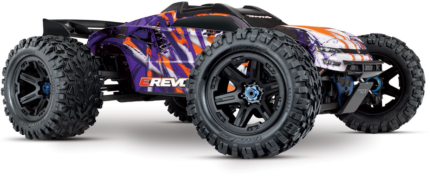Traxxas E-Revo VXL 4X4 Monster Truck - Purple