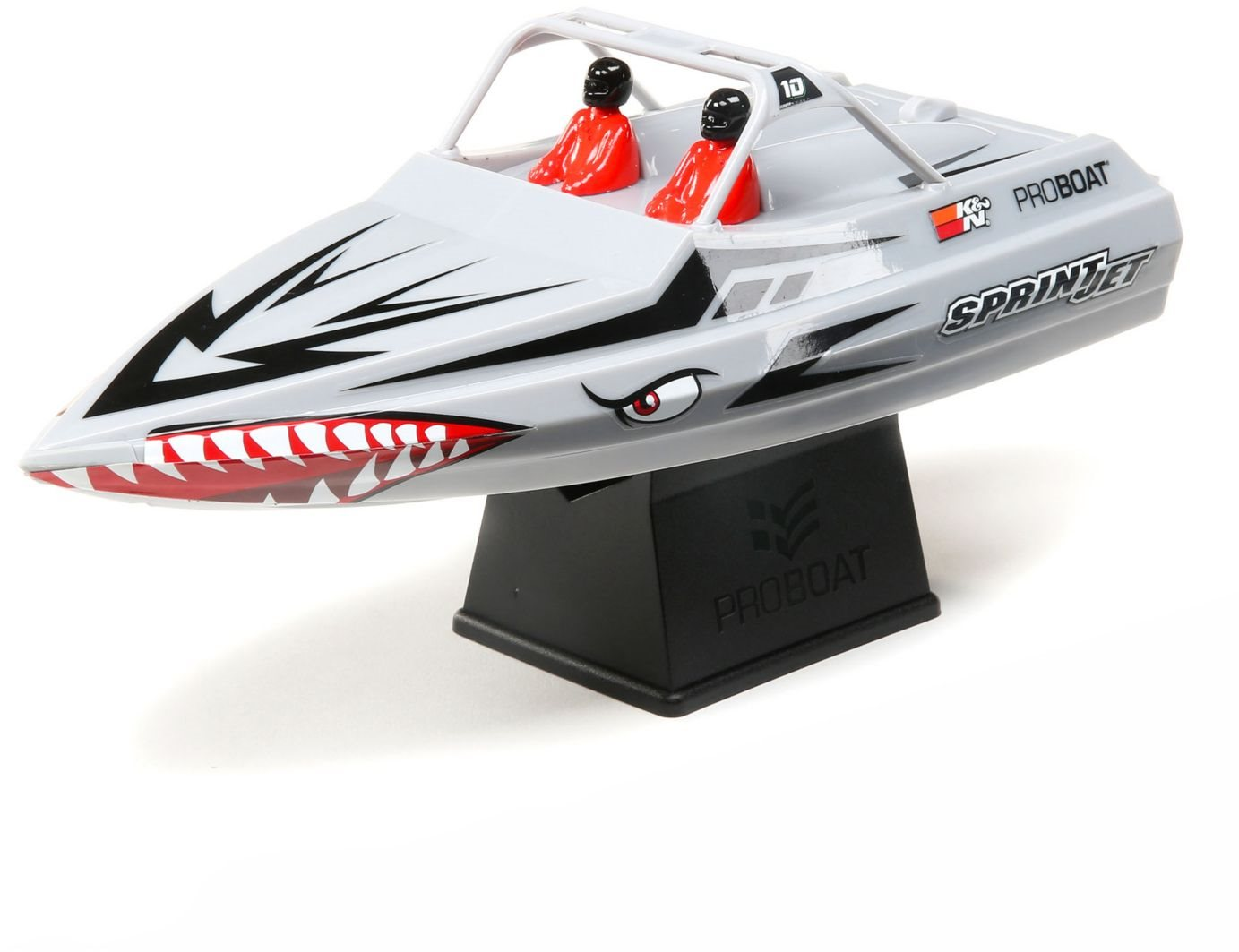 Pro Boat Sprintjet 9-inch Self-Righting Jet Boat RTR, Silver