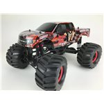Hyper Lube Solid Axle 4Wd 1/10 Scale Rtr Monster Truck