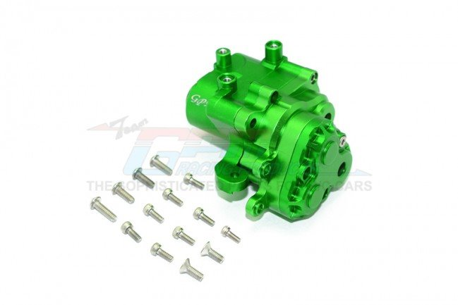 GPM Racing Aluminum Center Gearbox - Green