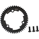 Hot Racing 46 Tooth 1 Steel Spur Gear, For E Revo 2, X-Maxx & Xo-1