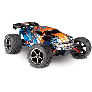 Traxxas E-REVO: 1/16-SCALE 4WD RTR - Orange