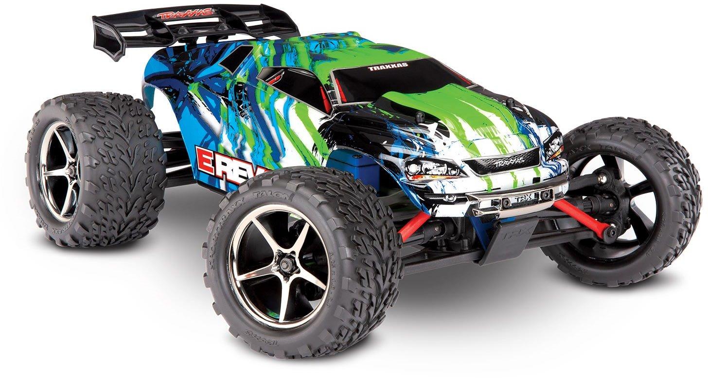 Traxxas E-REVO: 1/16-SCALE 4WD RTR - Green