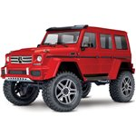TRX-4 Crawler with Mercedes-Benz G 500 Body - Red