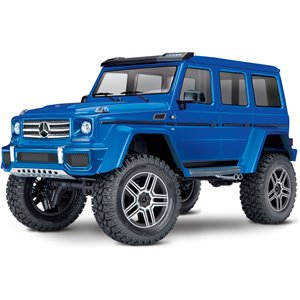 Traxxas TRX-4 Crawler with Mercedes-Benz G 500 Body - Blue