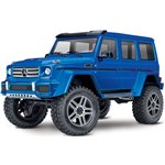 TRX-4 Crawler with Mercedes-Benz G 500 Body - Blue