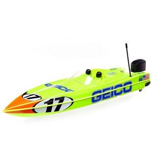 "Pro Boat 17\"" Power Boat Racer Deep-V RTR, Miss GEICO"