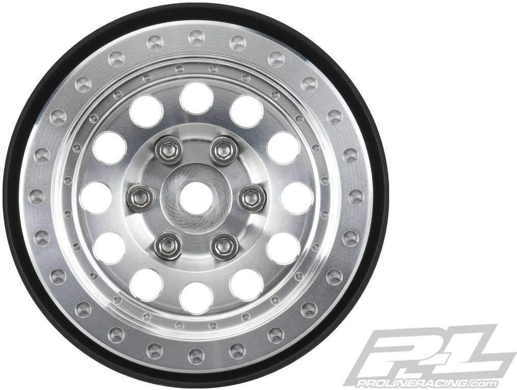 "Proline Rock Shooter 1.9\"" Aluminum Composite Internal Bead-Loc Wheels, F"