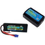 Power Pack #30 - AC-3A Charger + 1 x 7.4V 5200mah 35C w/ EC3 Con
