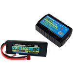 Power Pack #29 - AC-3A Charger + 1 x 7.4V 5200mah 35C w/ T-Plug