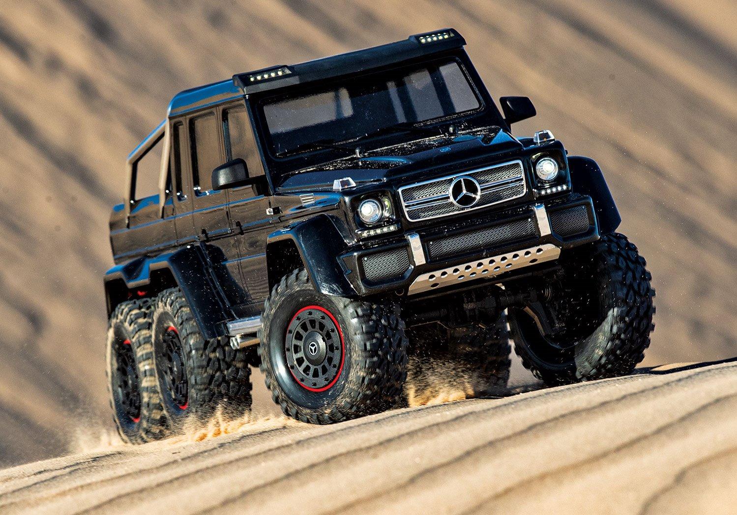 Traxxas TRX-4 Mercedes-Benz G 63 AMG 6x6 - Black