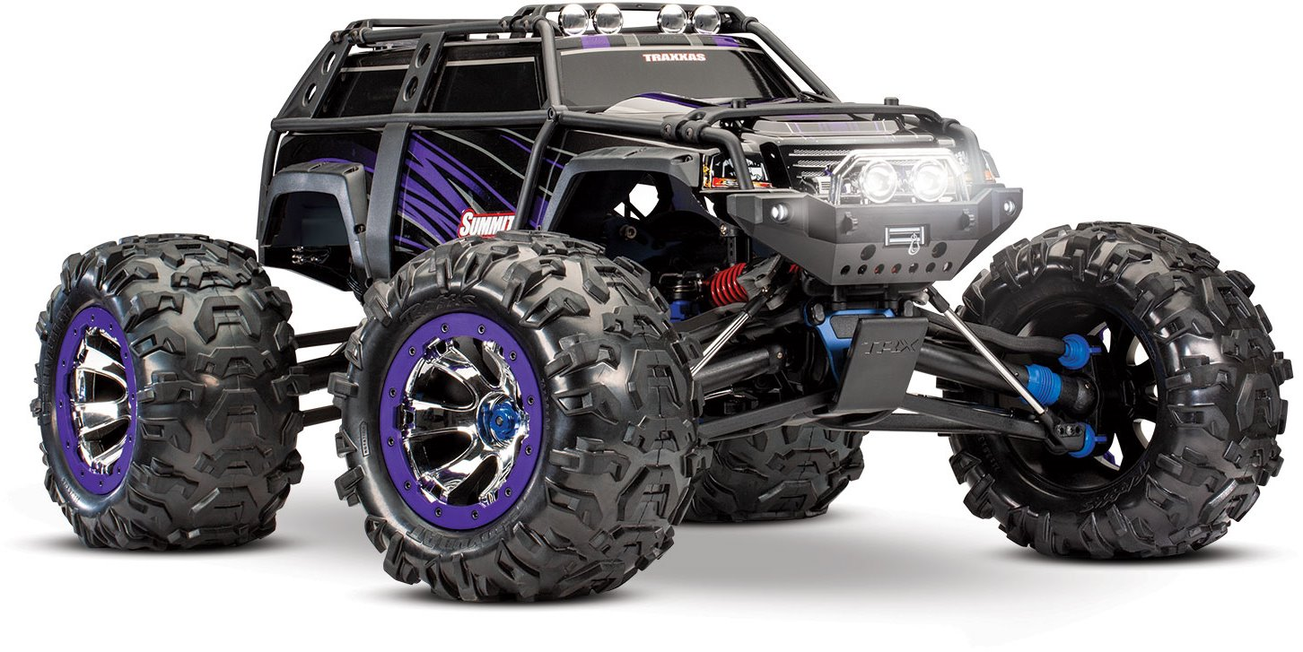 Traxxas Summit 1/10 Scale 4WD - Purple