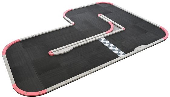 Kyosho Rcp Wide L Track (50Cm Tiles)