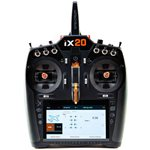 iX20 20-Channel DSMX Transmitter Only, Black