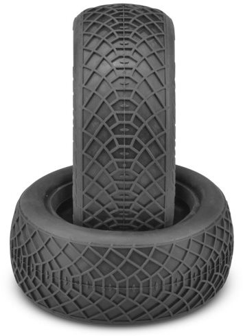 "J Concepts Ellipse Aqua (A2) Compound Tires, Fits 2.2"" Buggy 4Wd Front Whee"