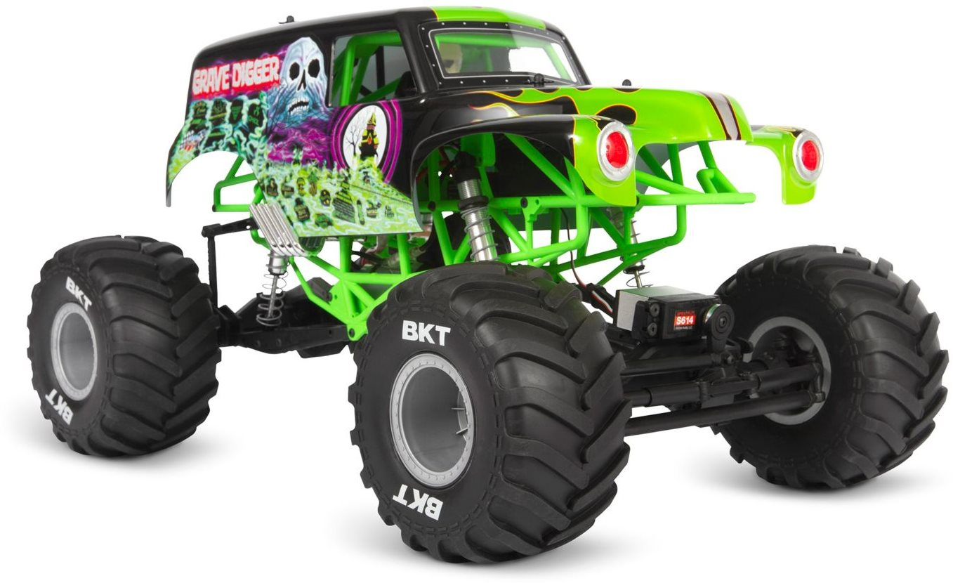Axial 1/10 SMT10 Grave Digger 4WD Monster Truck RTR (Axial