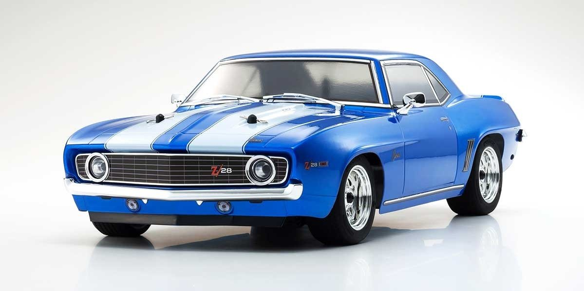 Kyosho 1969 Chevy Camaro Z28 Le Mans Blue 1/10 Scale