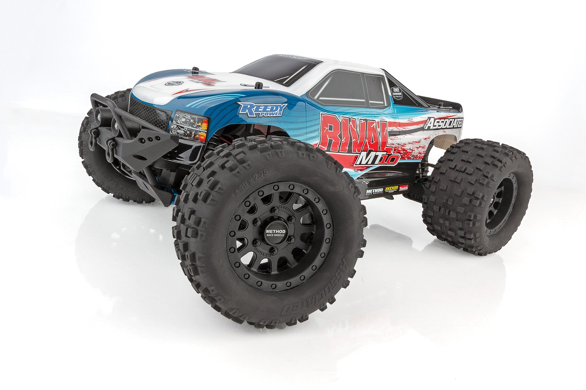 Associated Rival Mt10 1/10 Scale Off-Road Electric 4Wd Rtr