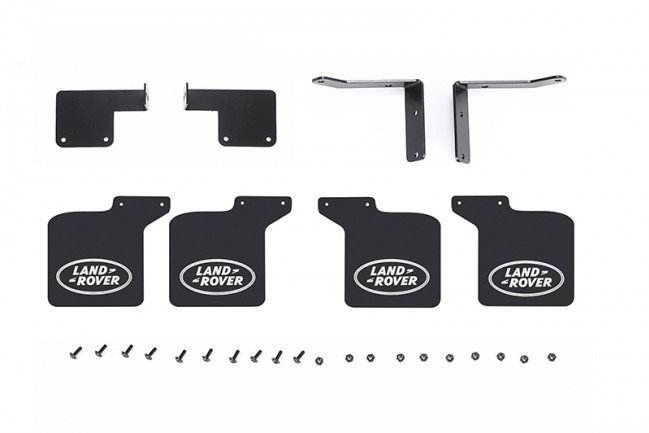 GPM Racing Scale Accessories: Mud Flap For TRX 4 Defender -28Pc Set