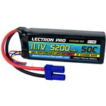 Common Sense RC Lectron Pro 11.1V 5200mAh 50C Lipo Battery with EC5 Connector