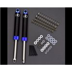 Hot Racing Blue Internal Spring Air Shocks, 120Mm