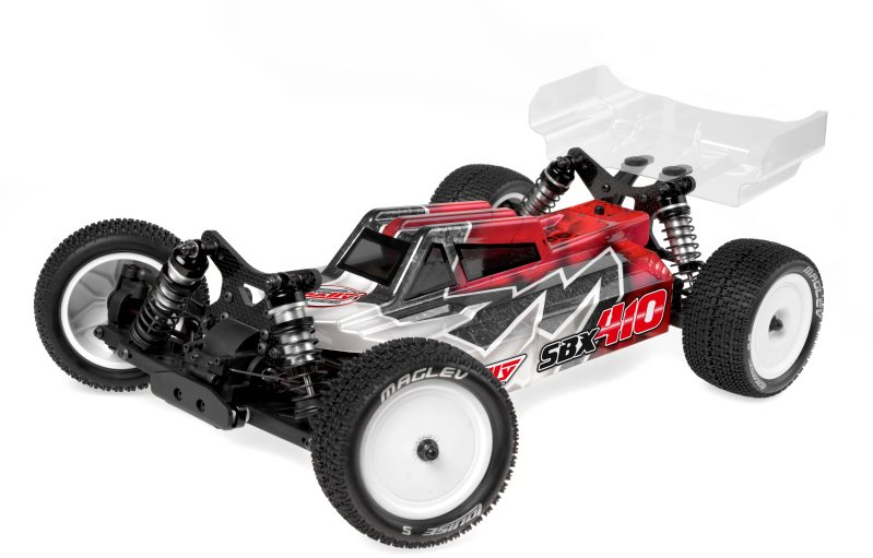 Team Corally 1/10 Sbx-410 4Wd Off Road Competition Buggy Kit (No Wheels, Tire