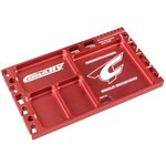 Cnc Aluminum Multi-Purpose Ultra Parts Tray; Red