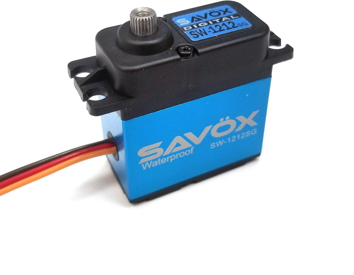 Savox Waterproof, High Torque, High Voltage Coreless Digital Servo, 0.