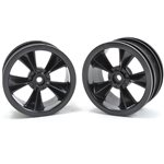 N2o Gloss Black Resto-Mod Sedan Wheels
